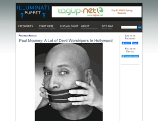 illuminatipuppet.com screenshot