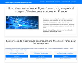 illustrateurs-sonores.enligne-fr.com screenshot