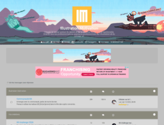 illustration-forum.com screenshot
