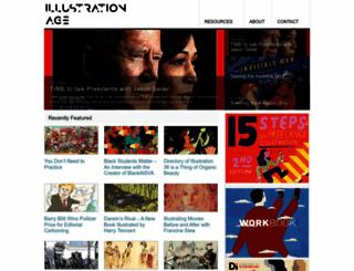 illustrationage.com screenshot