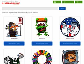 illustrationsof.com screenshot