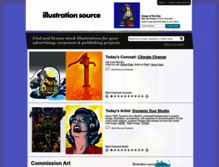 illustrationsource.com screenshot