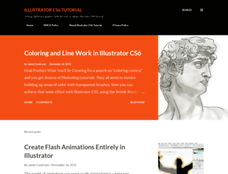 illustratorcs6tutorial.blogspot.com screenshot