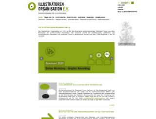 illustratorenleipzig.com screenshot