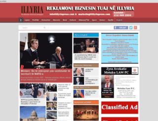 illyriapress.com screenshot