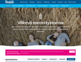 ilmajoki.fi screenshot