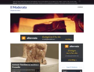 ilmoderato.altervista.org screenshot