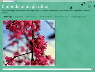 ilmondoinungiardino.blogspot.it screenshot