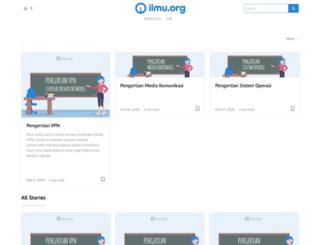 ilmu.org screenshot