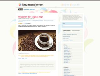 ilmumanajemen.wordpress.com screenshot