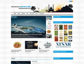 ilmusunnah.com screenshot