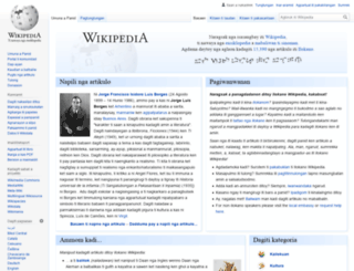 ilo.wikipedia.org screenshot