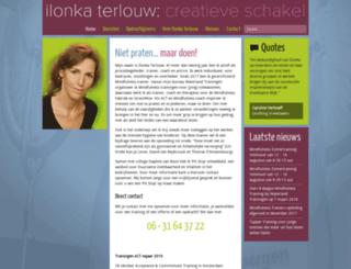 ilonka-terlouw.nl screenshot
