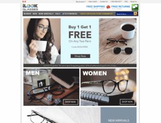 ilookglasses.ca screenshot