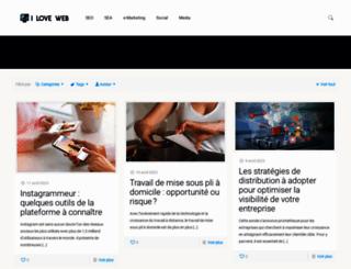 ilove-web.com screenshot