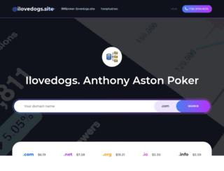 ilovedogs.site screenshot