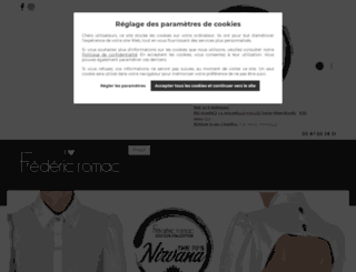ilovefredericromac.com screenshot