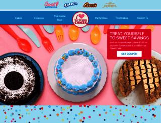 iloveicecreamcakes.com screenshot