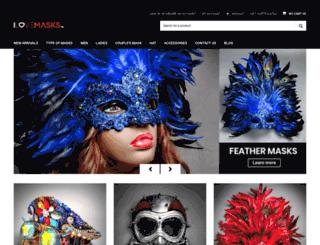 ilovemasks.com screenshot