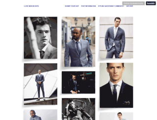 ilovemeninsuits.tumblr.com screenshot