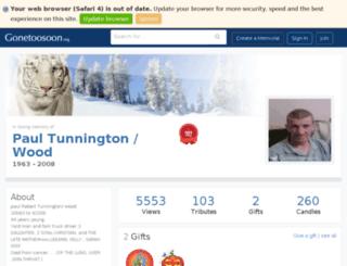 ilovepaul.gonetoosoon.org screenshot