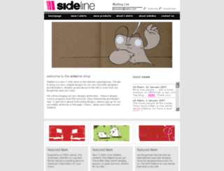 ilovesideline.com screenshot