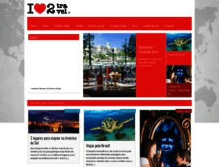 ilovetotravel.com.br screenshot