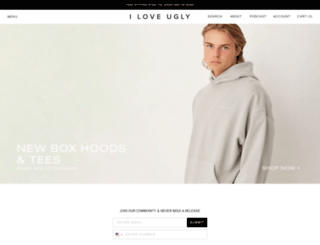 iloveugly.com.au screenshot