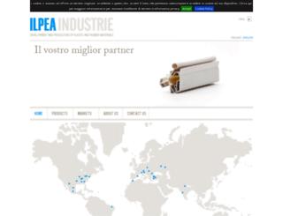 ilpea.com screenshot