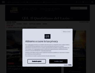 ilquotidianodellazio.it screenshot