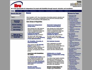 ilru.org screenshot