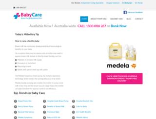 ilsbabycare.com.au screenshot