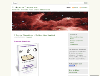 ilsegretodimenticato.wordpress.com screenshot