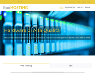 iltuohosting.it screenshot