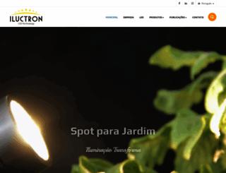 iluctron.com.br screenshot