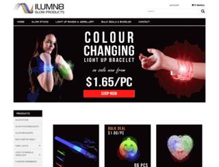 ilumn8.com.au screenshot