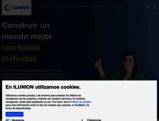 ilunion.com screenshot