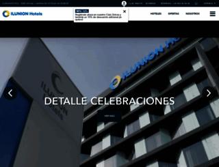 ilunionhotels.com screenshot