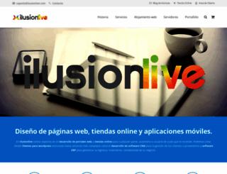 ilusionlive.es screenshot