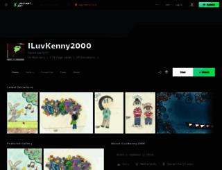 iluvkenny2000.deviantart.com screenshot