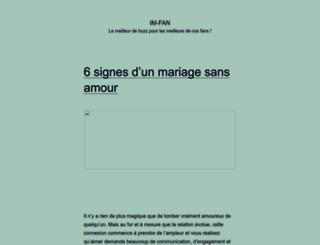 im-fan.com screenshot