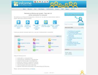 im.informe.com screenshot