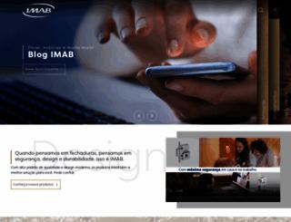 imab.com.br screenshot