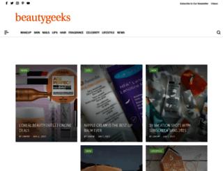 imabeautygeek.com screenshot