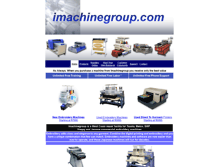 imachinegroup.com screenshot