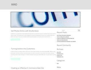 imad.com screenshot