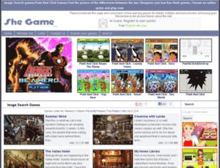 image-search-games.shegame.com screenshot