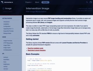 image.intervention.io screenshot