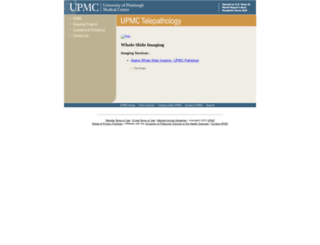 image.upmc.edu screenshot