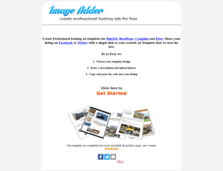 imageadder.com screenshot